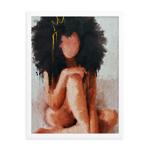 """Bed Peace"" Framed Print"