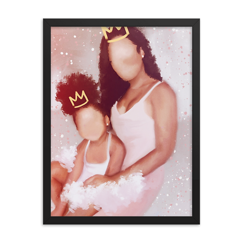"""""""Heiress to the Throne"""" Framed Print"""