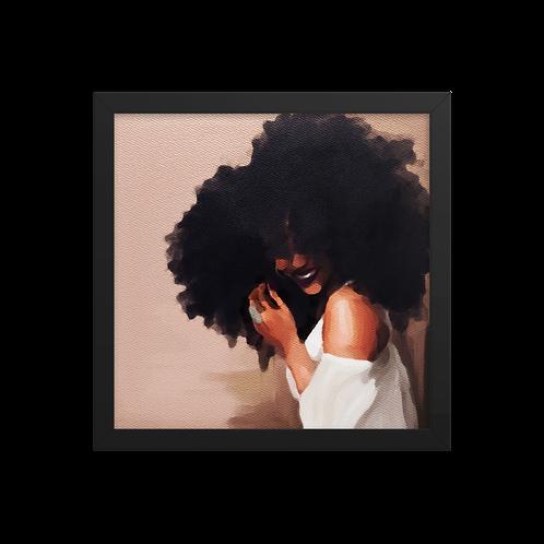 """""""Smile For Me"""" Framed Print"""