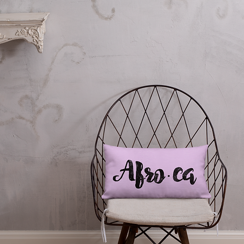 """""""AFRO-ca"""" Pillow"""