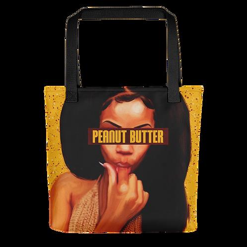 """Peanut Butter"" Tote Bag"