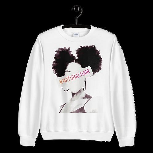 """#NATURALHAIR"" Sweatshirt"