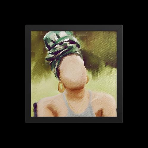"""""""Emerald Queen"""" Framed Print"""