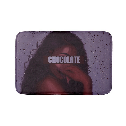 """Chocolate"" Bath Mat"