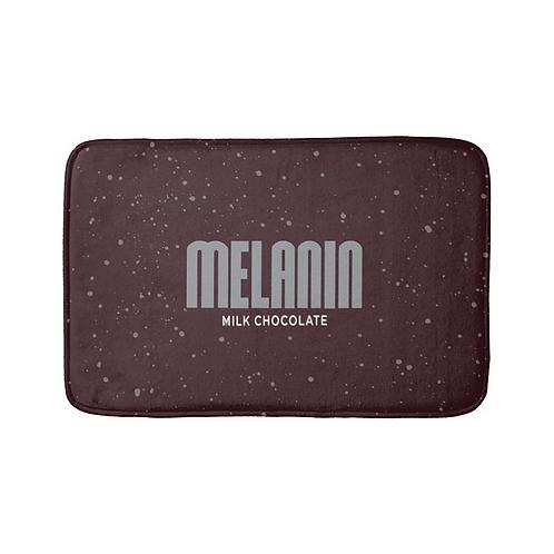 """Melanin Hershey Bar Crunch"" Bath Mat"