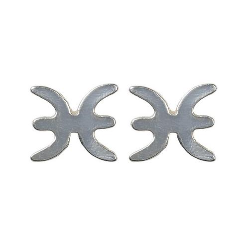 """""""Pisces"""" Zodiac Earrings"""