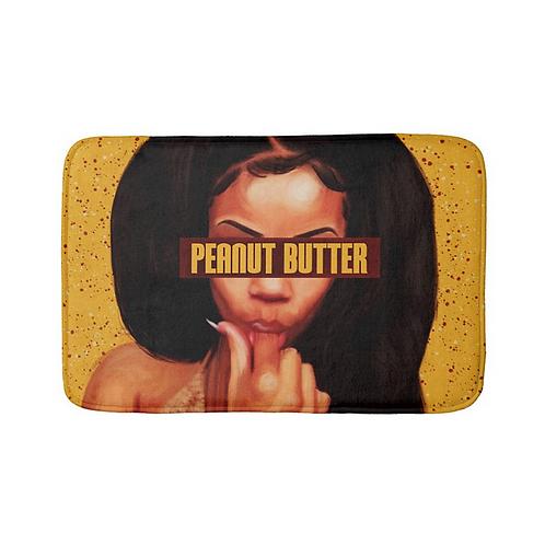 """""""Peanut Butter"""" Bath Mat"""