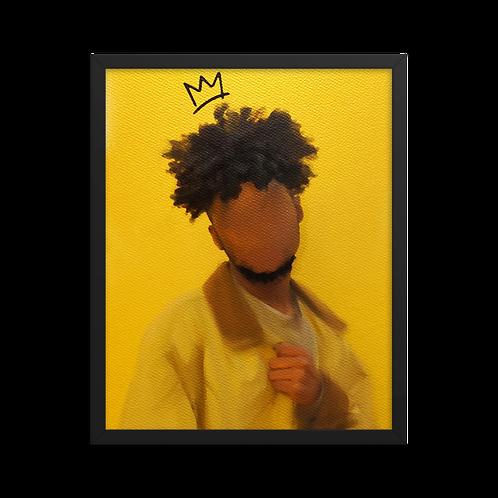"""HIM"" Framed Print"