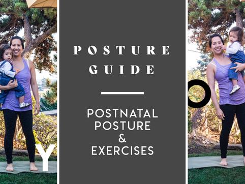 POSTNATAL POSTURE & EXERCISES