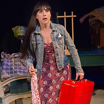 """Laurita in Theatre 167's """"You Are Now The Owner Of This Suitcase"""""""
