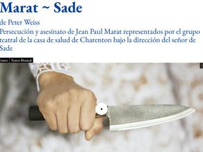 Marat-Sade | El Teatro A Fogonazos