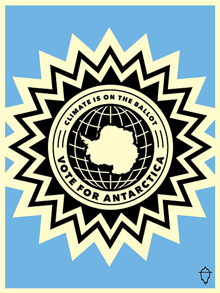 Vote For Antarctica Poster