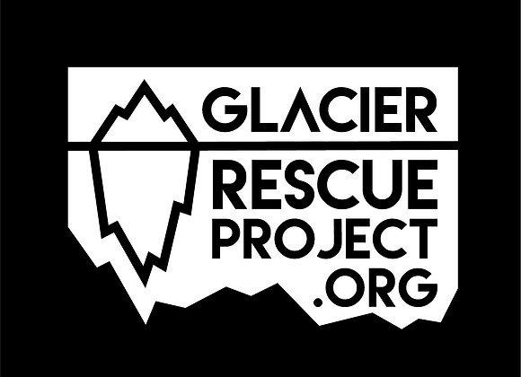 Glacier Rescue Transfer Sticker