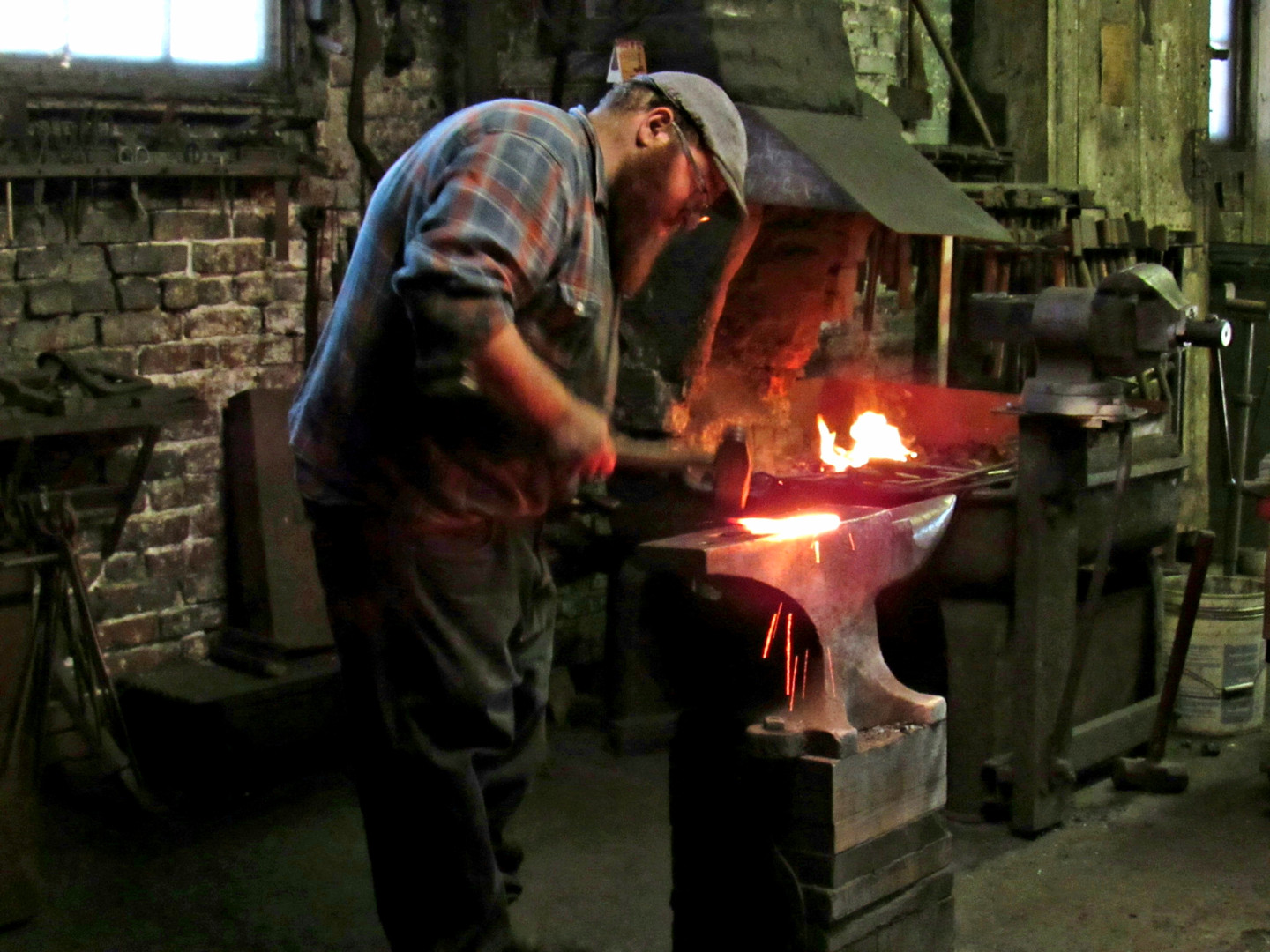 Blacksmith of Trenton - image by Rob Kee