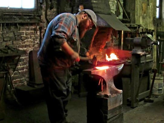 Blacksmith of Trenton - image by Rob Kee
