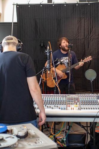 Live music at SLOW Art Studios, 2018, as part of Analog Trenton by Dirty Old Robot. Photo: Chris Marinari.