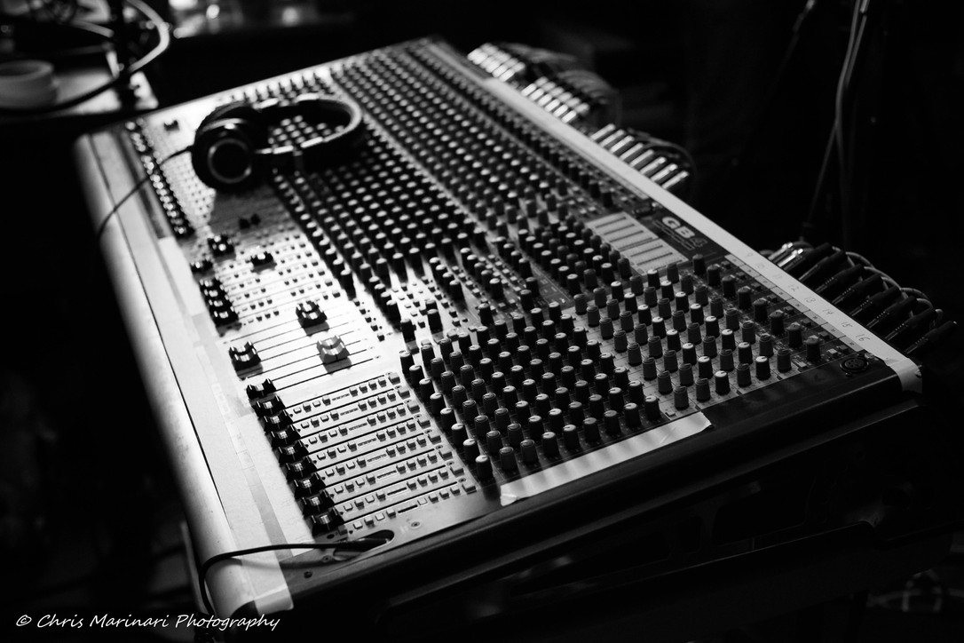 Vintage recording equipment, Dirty Old Robot, as part of Analog Trenton (2018) at 750 Cass Street. Photo: Chris Marinari.