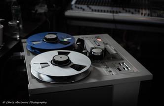Vintage studio equipment - Dirty Old Robot / Analog Trenton project (2018). Photo: Chris Marinari.