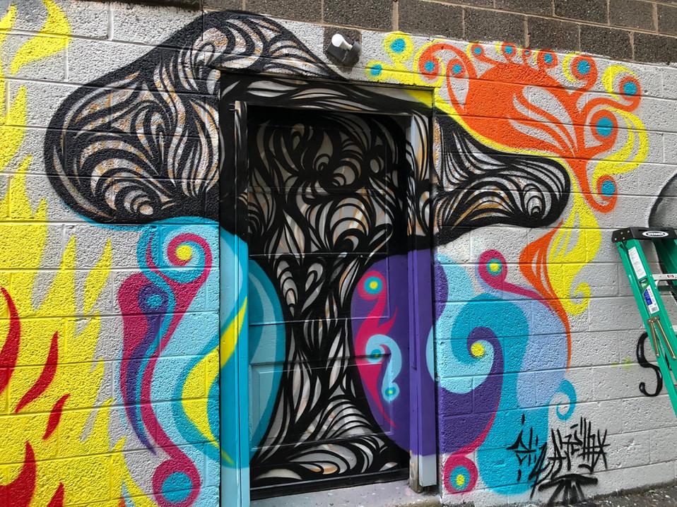 Liz Amaral: mural work
