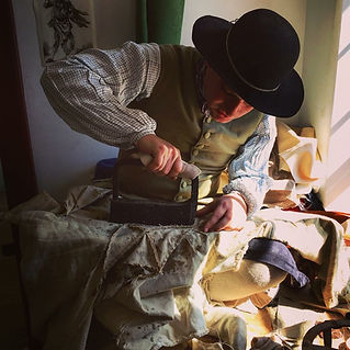 View exacting reproductions of 18th century clothing.