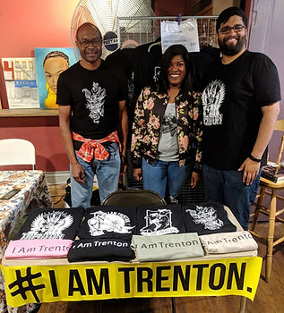 Established in 2007, I Am Trenton Community Foundation supports grassroots projects and initiatives in the city. Available at AAD: limited edition t-shirts by Trenton artists! Your support enables I Am Trenton to fund resident-led work that makes Trenton even better.