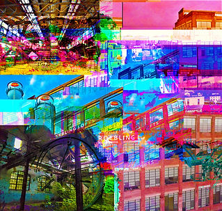 "Phillip McConnell, ""Chaos Anthology"". Glitch art. Works depicting the experience of religion, pop culture and self-expression."