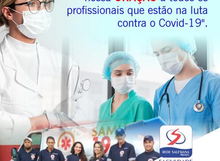FSDB agradece os profissionais da saúde na luta contra o COVID-19