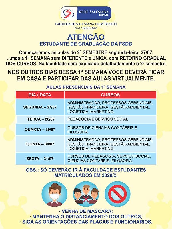 Banner Retorno Gradual as Aulas 2020-2_A