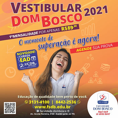 Post Facebook Instagram Vestibular 2021-