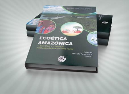 """PROFESSOR DA FSDB LANÇA LIVRO INTITULADO: """"ECOÉTICA AMAZÔNICA"""""""
