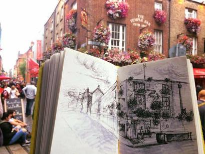 Sketching - Angelia Yingge Xu