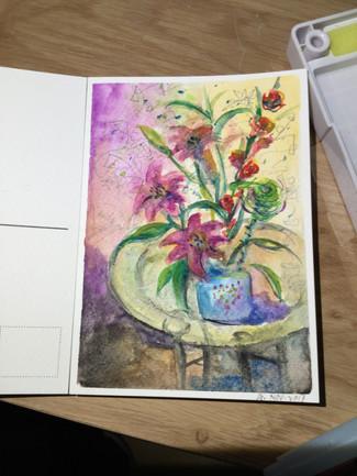 Water Color - Angelia Yingge Xu