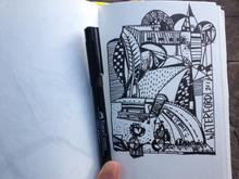 Doodle Diary - Angelia Yingge Xu