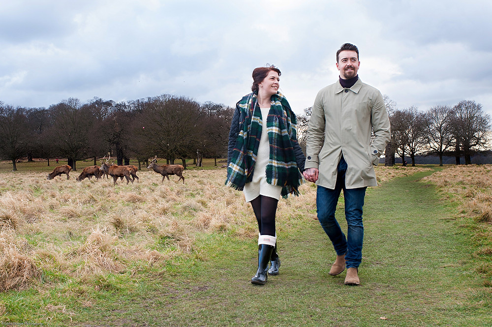 Pre-wedding shoot, Richmond Park