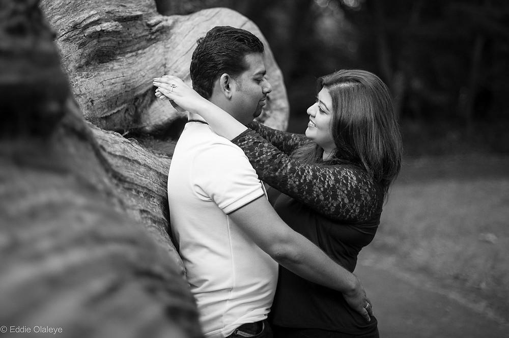 Trent Park Engagement Shoot