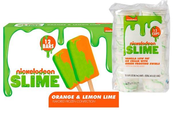 Sorvete de Slime? é isso mesmo que você viu! A Nickelodeon vai lançar ele lá EUA. Você provaria?