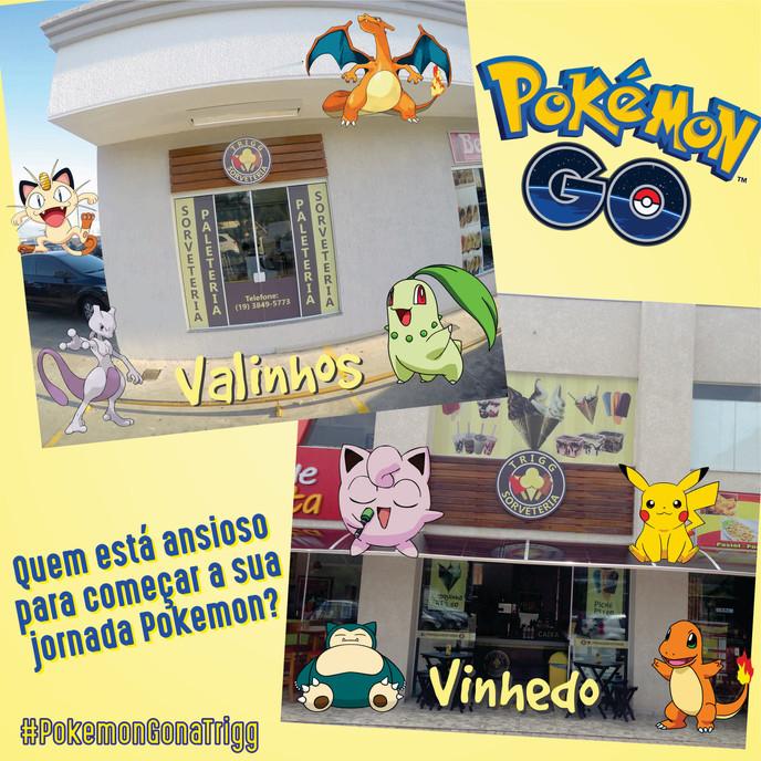 Tem algum fã de 'Pokemon Go' aqui?
