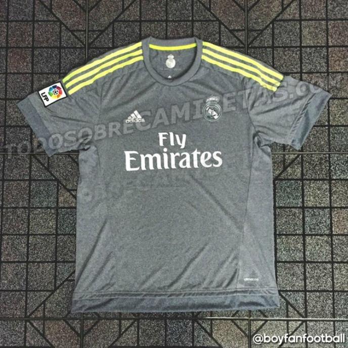 Nova camisa do Real Madrid 2015/2016 é cara da Trigg!