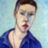 Ксения Шильникова Автопортрет х.м. 65х55 2003