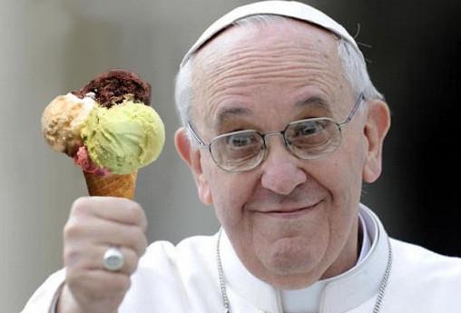 A relação de amor entre os papas e o sorvete!