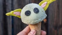 A nova sensação da franquia Star Wars vira sorvete! <3