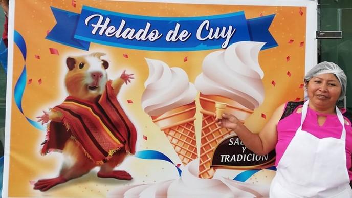 Vai ai um sorvete de porquinho da índia?