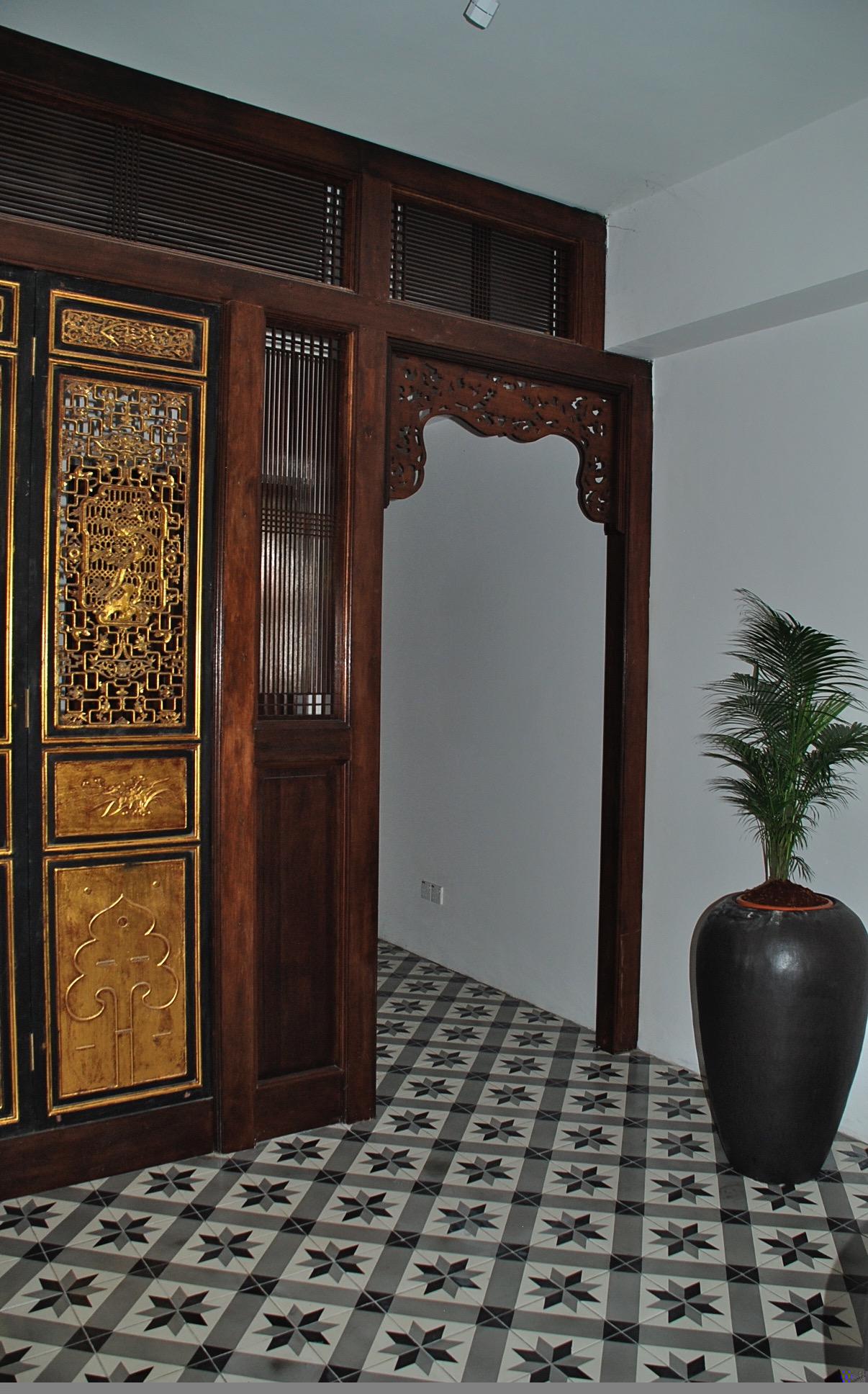 Asian Style Doorway