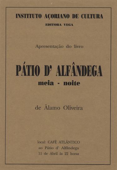 Cartaz da apresentação do livro.
