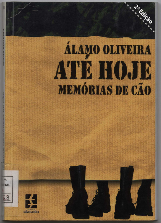 Até hoje : memórias de cão / Álamo Oliveira ; capa Marcolino Candeias. - Lisboa : Salamandra, D.L. 2003. - 204, [4] p. ; 21 cm. - (Garajau ; 103). - ISBN 972-689-228-7