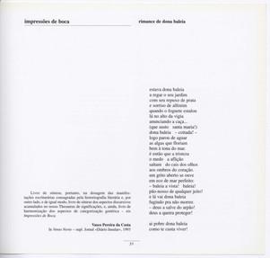"""Impressões de boca / Álamo Oliveira ; capa e il. de David d'Almeida. - Angra do Heroísmo : Secretaria Regional da Educação e Cultura, Direcção Regional dos Assuntos Culturais, D. L. 1992. - 50 p. : [5] f. il. ; 21 cm. - (Gaivota ; 76). - ISBN 972-647-108-7  Imagem retirada do livro """"O meu coração é assim""""."""