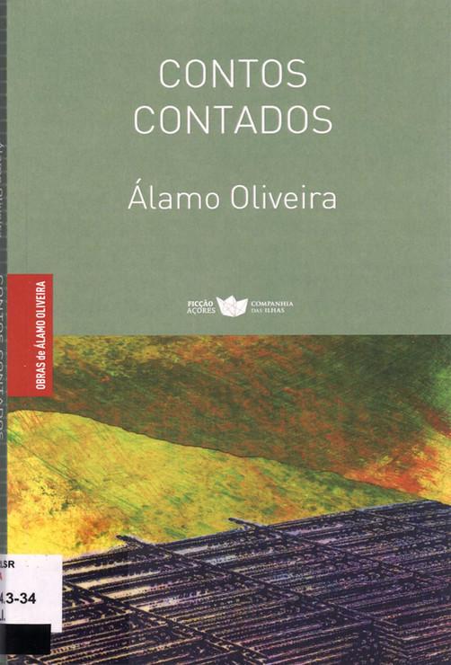 """Contos contados / Álamo Oliveira ; prefácios de José Pedro G. Guerreiro e Fernando Aires ; pintura da capa e fotografia do autor [de] Rui Melo. - 1.ª ed. - Lajes do Pico : Companhia das Ilhas, 2019. - 168, [6] p. ; 22 cm. - (Obras de Álamo Oliveira ; 5). - Enformam este livro: """"Contos com desconto"""" (ed. 1971) e """"Com perfume e com veneno"""" (ed. 1977). - ISBN 978-989-8828-81-1"""