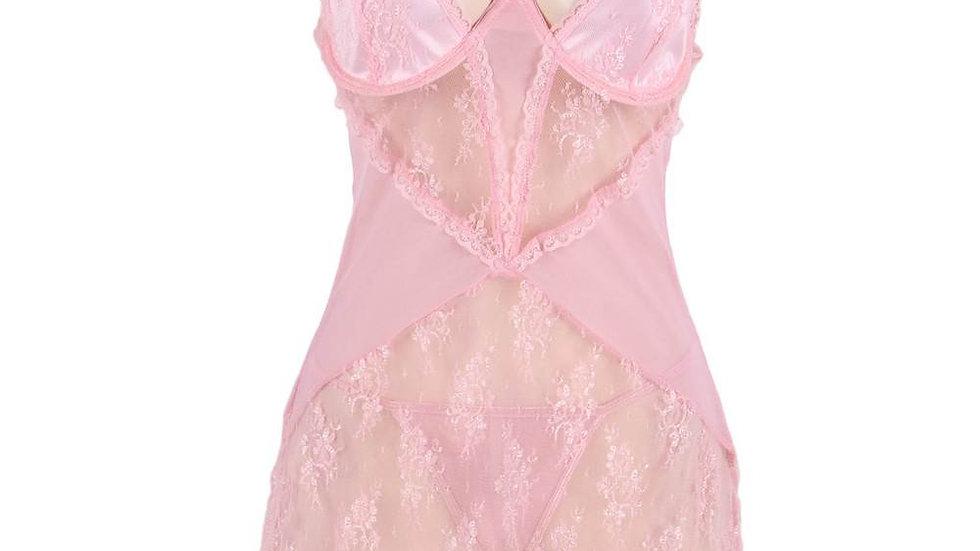 Pink Flirty Girl