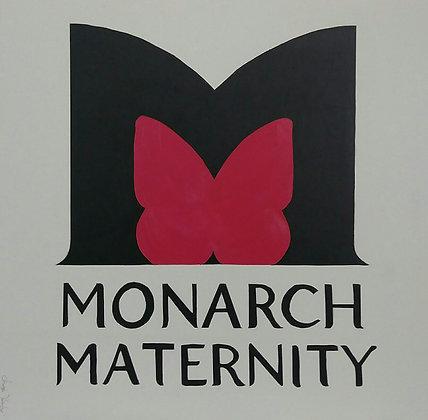 "MONARCH MATERNITY 24' x 24"""