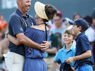Matt Kuchar just set a career milestone known only to him and his family (and his accountant)